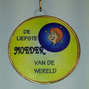 Medaille Moeder bestellen bij ZZ-Snoeponline.nl