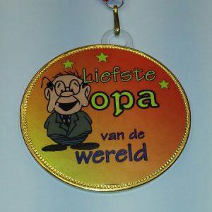 Medaille Opa bestellen bij ZZ-Snoeponline.nl