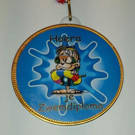 Medaille Zwemdiploma bestellen bij ZZ-Snoeponline.nl