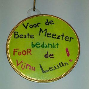 Medaille Meester bestellen bij ZZ-Snoeponline.nl