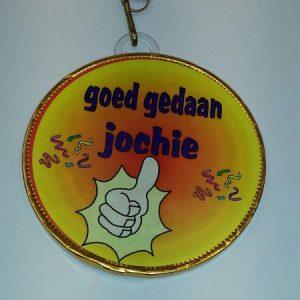Medaille Goed gedaan Jochie bestellen bij ZZ-Snoeponline.nl