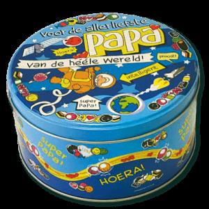 Snoeptrommel Papa bestellen bij ZZ-Snoeponline.nl