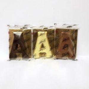 Albert Chocoladeletter klein A