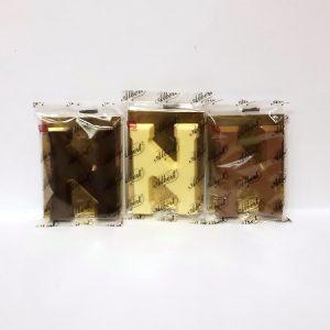 Albert Chocoladeletter klein N