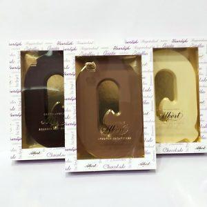 Albert Chocoladeletter Q