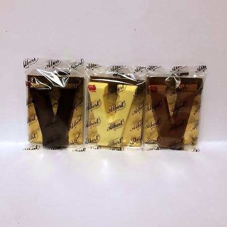 Albert Chocoladeletter klein V