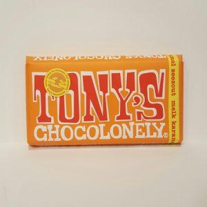 tony chocolonely karamel zeezout