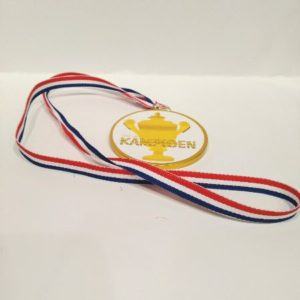 Medaille Kampioen bestellen bij ZZ-Snoeponline.nl