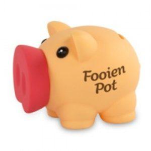 Fooien Pot Spaarvarken