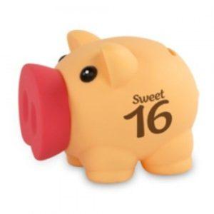 Sweet 16 Spaarvarken
