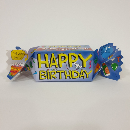 Toffee happy birthday bestellen bij ZZ-Snoeponline.nl