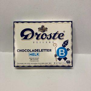 Droste Chocoladeletter B
