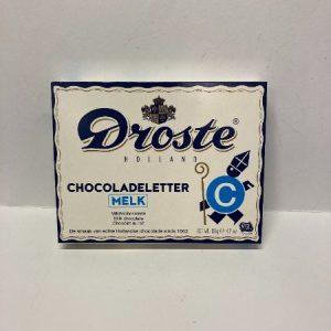 Droste chocoladeletter c