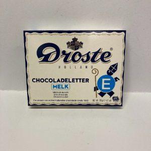 Droste Chocoladeletter E