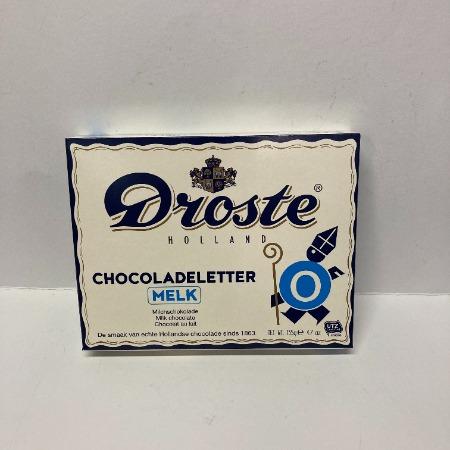 Droste Chocoladeletter O